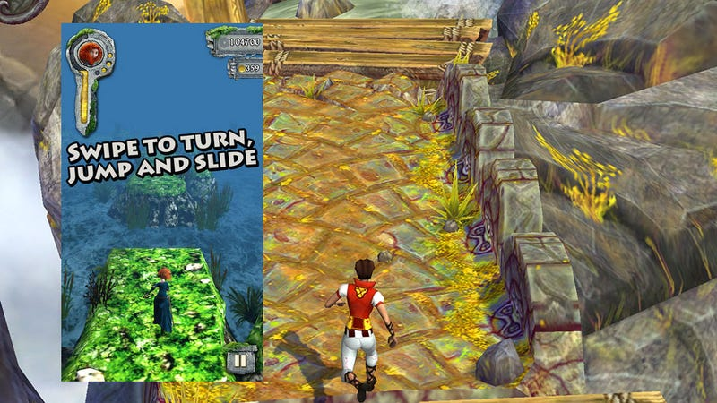 This Week's iPhone Charts: The Temple Run Effect