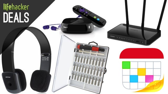 Deals: Bluetooth Headphones, PC Components, $70 AC Router, Fantastical