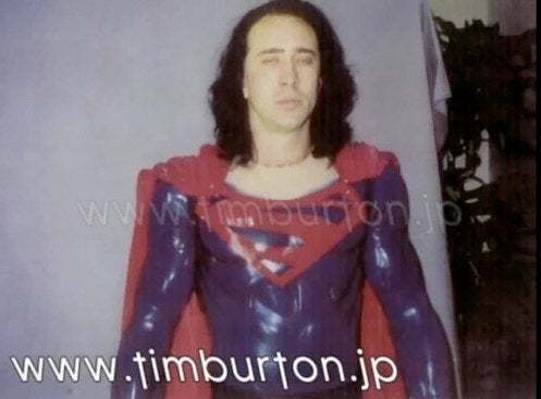 More Awesome Pictures Of Nic Cage's Superman Test Outfits?