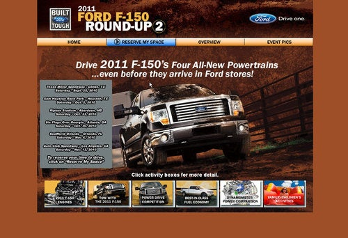 Ford's First EcoBoost F-150 Photo?