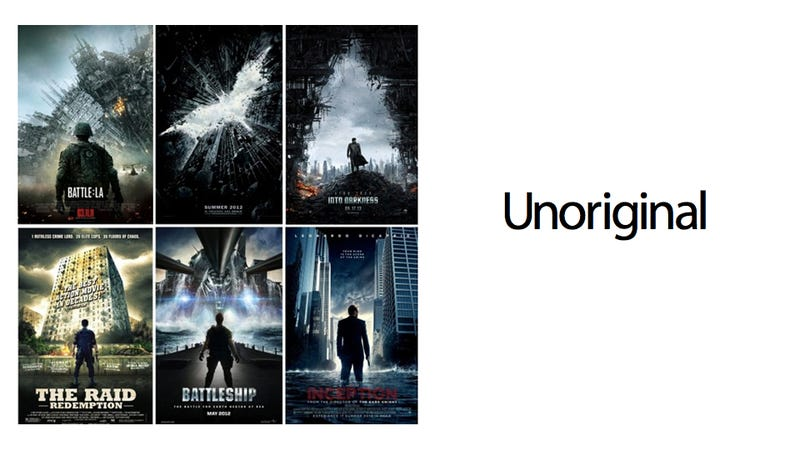 Movie Posters Love to Show a Man Standing Alone Looking At Something