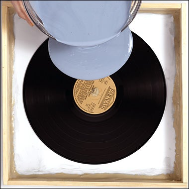 Back Up Your Vinyl Collection by Casting Copies