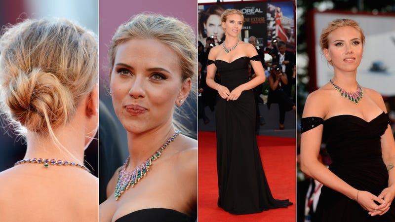 Scarlett Johansson Is a Bedhead Bunhead