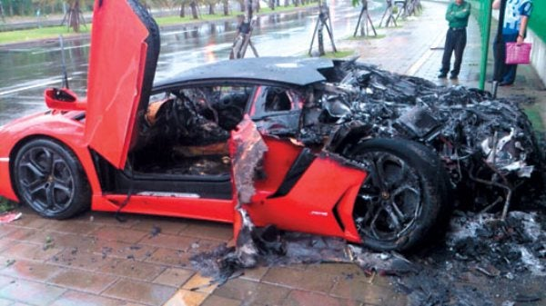 Pro Tip: Don't Order Your Lambo in Red