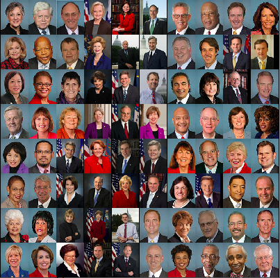 They know who you're going to vote for just by looking at your face…