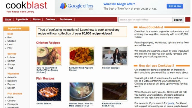 Cookblast Is a One-Stop-Shop for Recipes and Cooking Videos Online