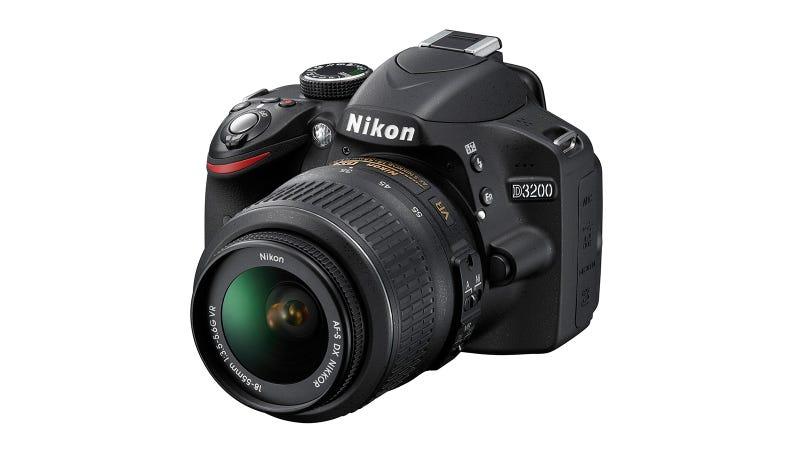 Nikon D3200: Nikon's Entry-Level DSLR Goes Pixel-Hungry Too