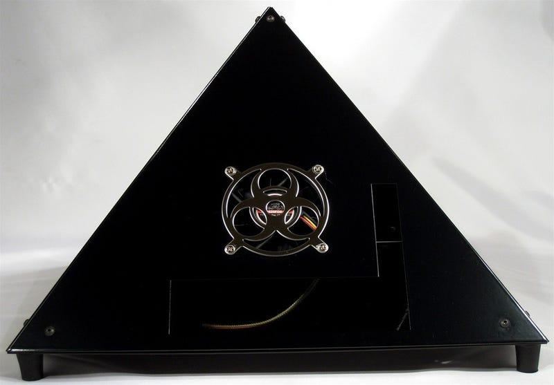 Handmade Vertex Pyramid Cases Entomb Your PC