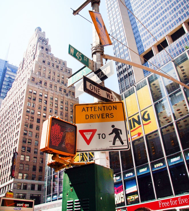 Why Street Signs Make Traffic More Dangerous