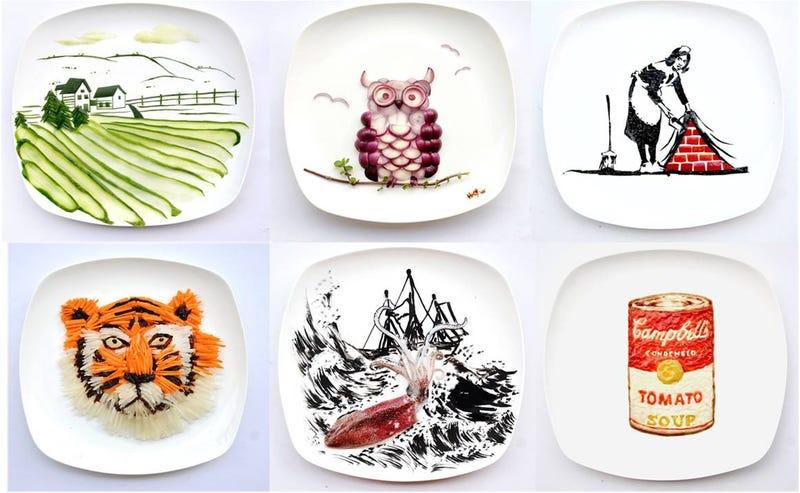 Del Food porn al Food art en Instagram