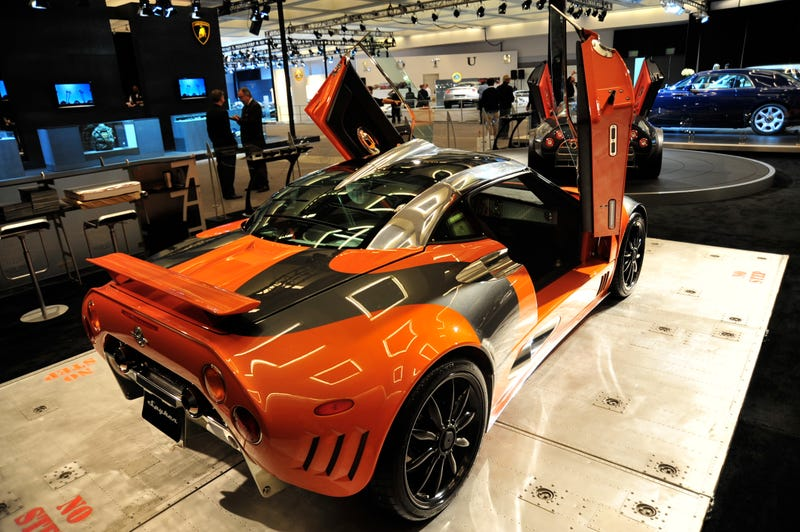 Spyker C8 Laviolette LM85, Live In A Very Bright Color