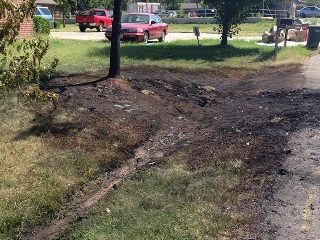 Police Investigating Torching Of Arkansas QB Brandon Allen's Truck