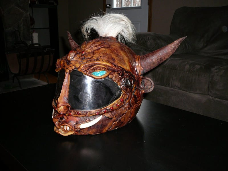 Spooky Motorcycle Helmets Are Spooky, Inexpensive