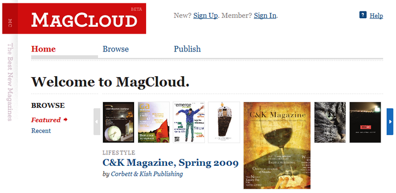MagCloud Makes it Easy to Run Your Own Magazine