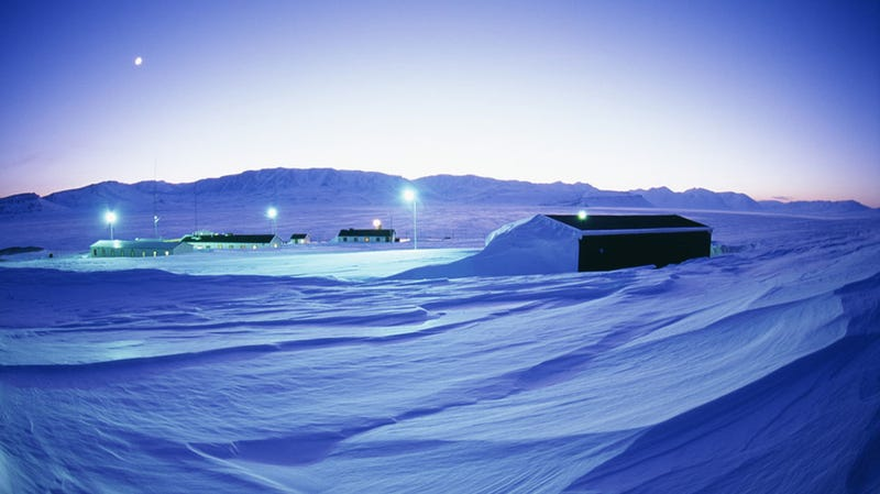 Groenlandia esconde un cañón tan profundo como el del Colorado