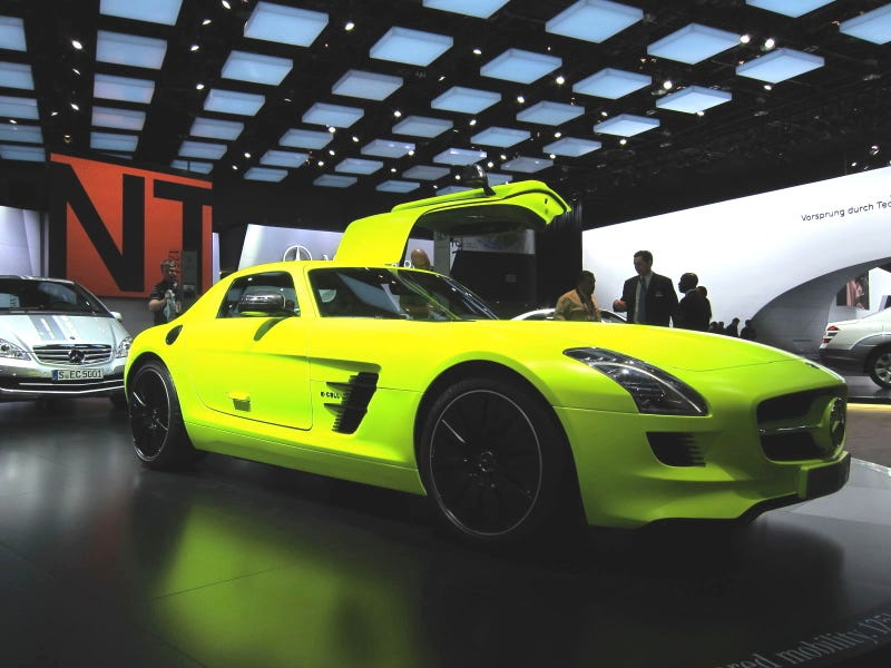 Mercedes E-Cell Gallery