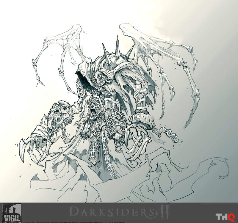 Building The Art Of Darksiders II
