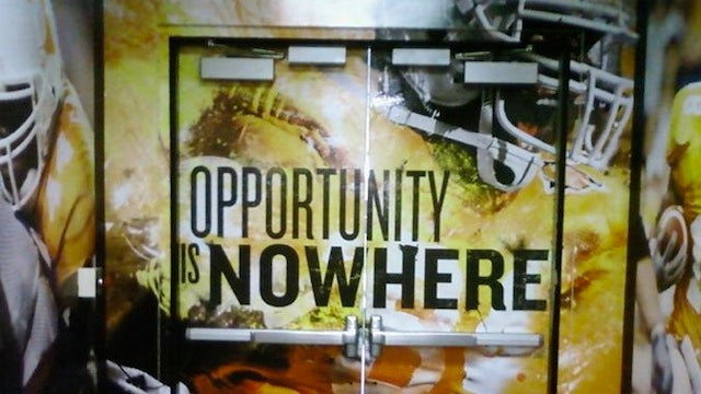 "The New Slogan For Tennessee's Football Program: ""Opportunity Is Nowhere"""