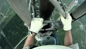 Helmet Cam Footage Shows What It's Like To Repair a Broadcast Tower
