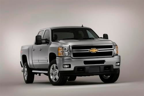 2011 Chevrolet Silverado HD: Press Photos