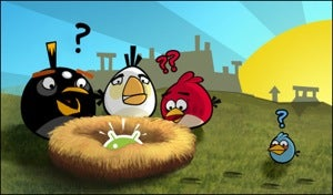 Angry Birds Tears It Up On Android with 1 Million Downloads In One Day