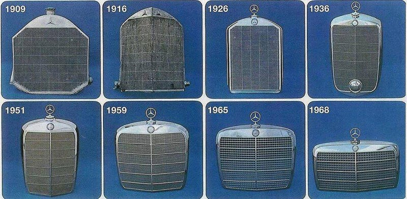 Mercedes Benz Grille History