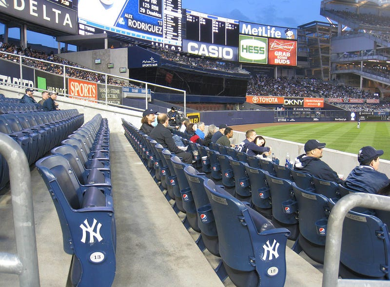 Yankees Tickets Are A Dollar, Seats Are Empty, And They're Trying To Blame StubHub