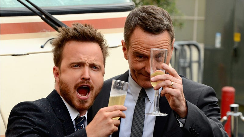 Breaking Bad Stars Arrived To Last Night's Premiere in an RV