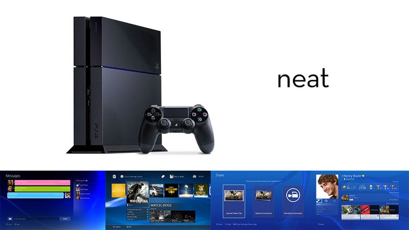 Nine Cool Facts About The PS4's Interface