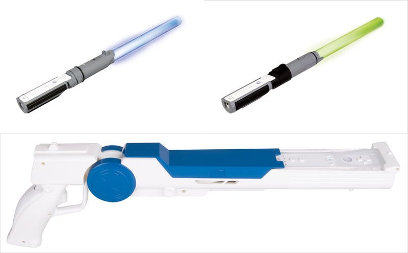The Official Wii Lightsabers