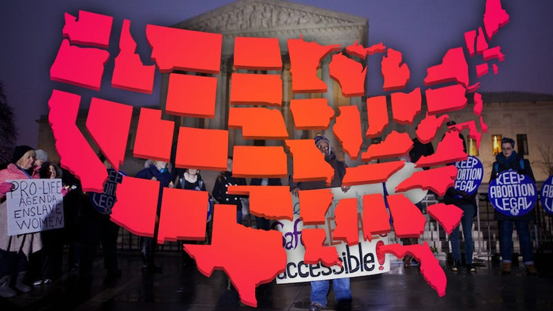 A State-By-State Guide to 2012's Anti-Choice Laws (So Far)