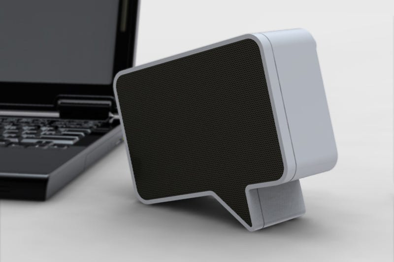 The Speak-er Brings Speech Bubbles Into the 21st Century