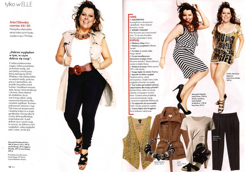 Plus-Size Ladies Embraced By Polish Elle