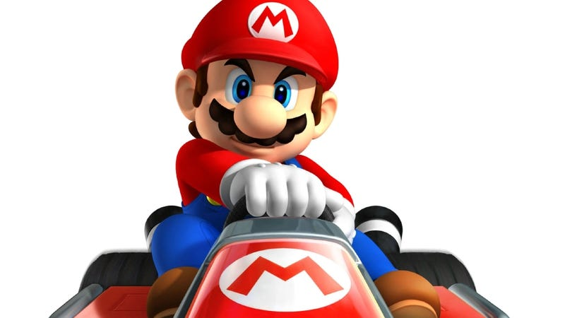 It's Mario Kart 7, not Mario Kart 3DS, Because 7's a Lucky Number