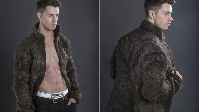 Wear This Coat Made of Chest Hair and Support Hairy Man Chests