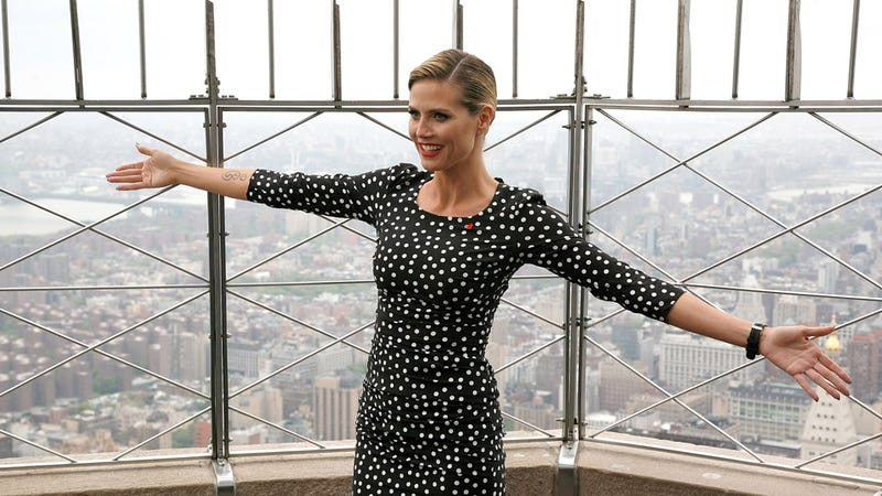 Heidi Klum Spreads Her Wings and Prepares to Take Flight