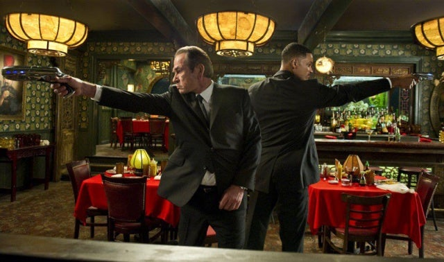 New Stills from MIB III