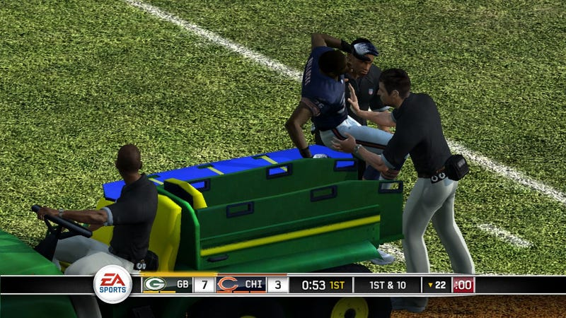 Madden NFL 12 Said to Include Concussions to Present a Safety Message