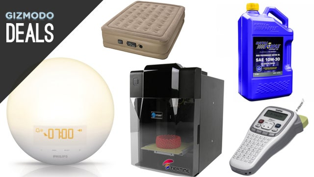 Wake-Up Lights, Cheap Car Upgrades, 3D Printer, Smartphone Accessories