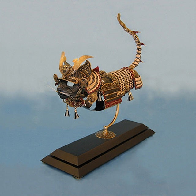 Animal-Shaped Armor for the Eternal Battle of Cats vs. Mice