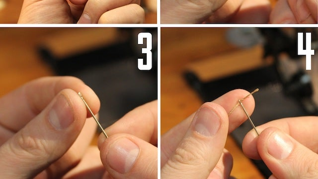Thread Needles Faster by Moving the Needle, not the Thread