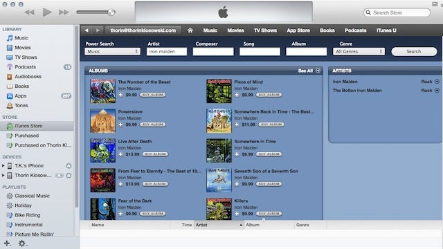 Bring Back the Hidden iTunes Store Power Search