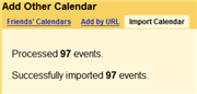 Import All Your Yahoo! Calendar Events