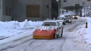 Drag Racer On Snow Proves Every Car Is A Winter Car