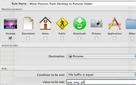 Organize Your Mac with File Actions