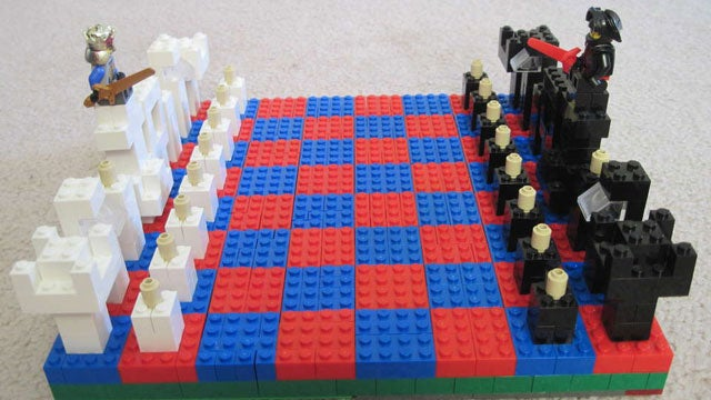 Build a Chess Set Out of LEGOs