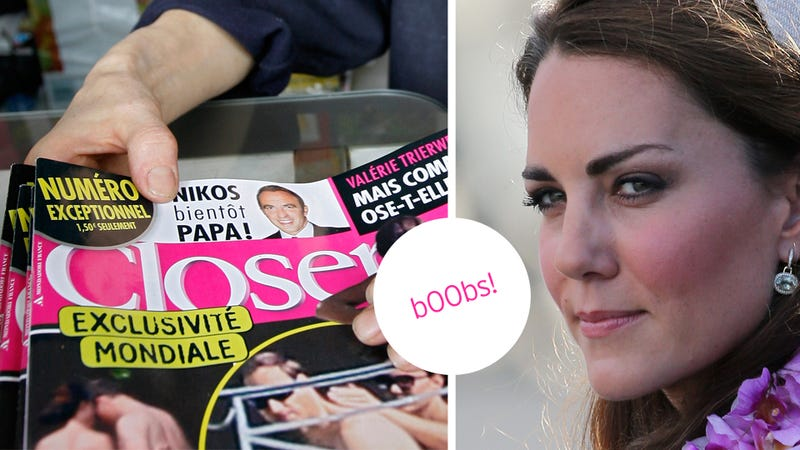 Your Guide to the Week of Kate Middleton's Boobs and the French Magazine that Published Them