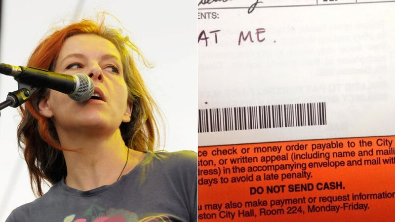 Neko Case to Her Boston Meter Maid: 'Eat Me'