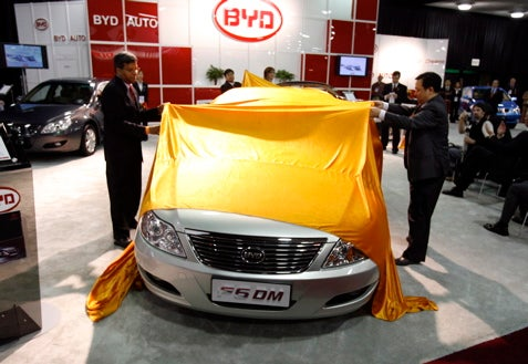 Detroit Auto Show: World Exclusive Surreal, Illegal Test Drive Of Chinese Hybrid Through Cobo Arena