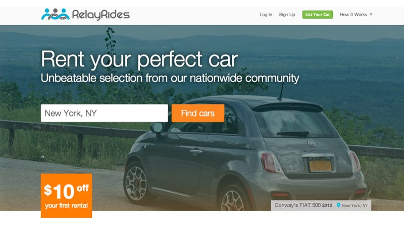 New York Halts Service That Lets You Rent Your Car To Other People